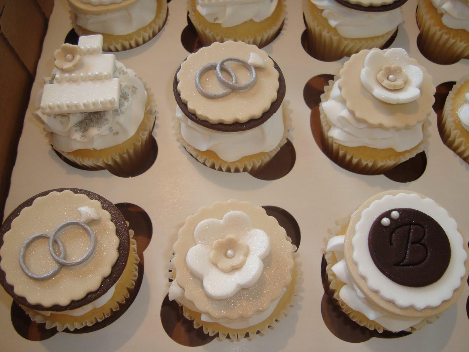 Cupcake Engagement Cake