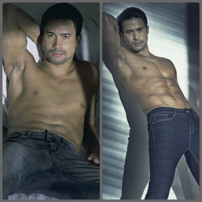 The hot and sexy Sam Milby for Folded and Hung 2013 denim skin collections