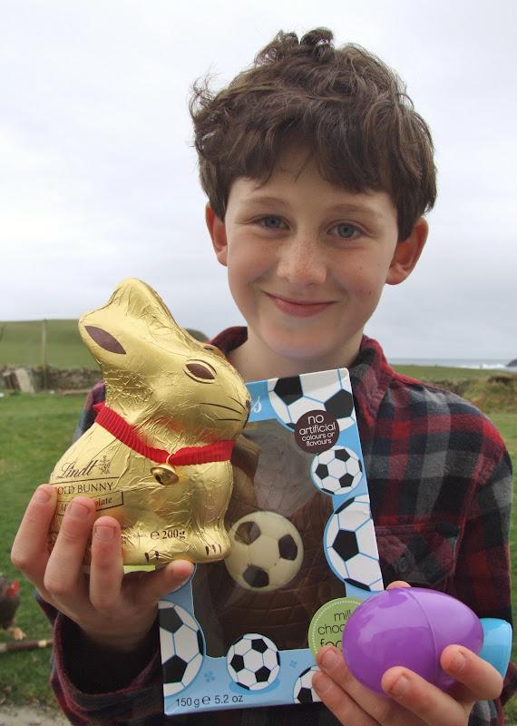 Fair Isle: Easter Foiled Again! First Baby Lamb & Sea Snail Fish