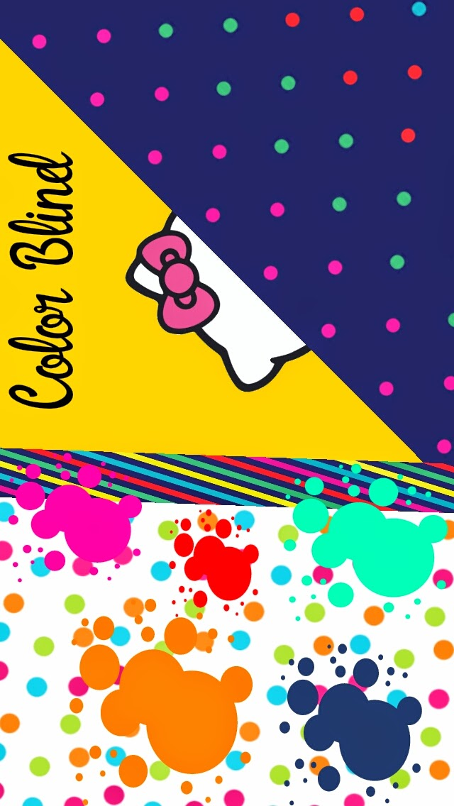 color Blind kitty wallpaper collection