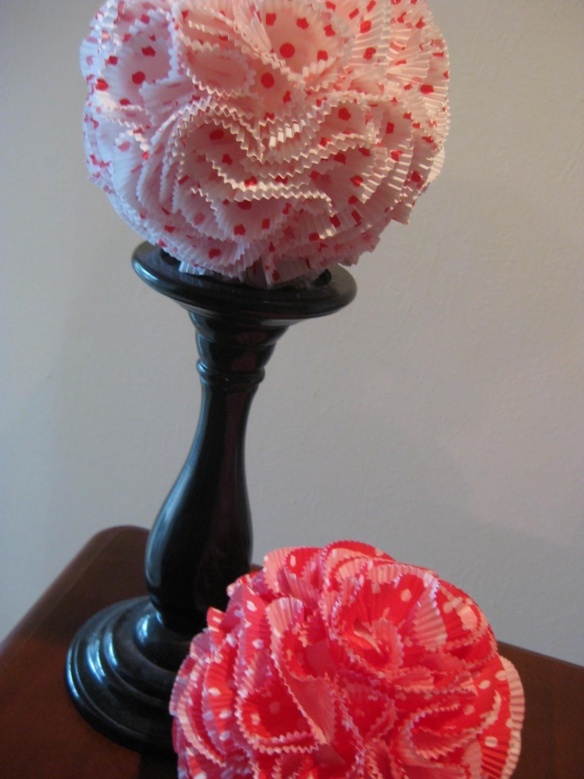 girl vs craft katie vs the cupcake wrapper pomander
