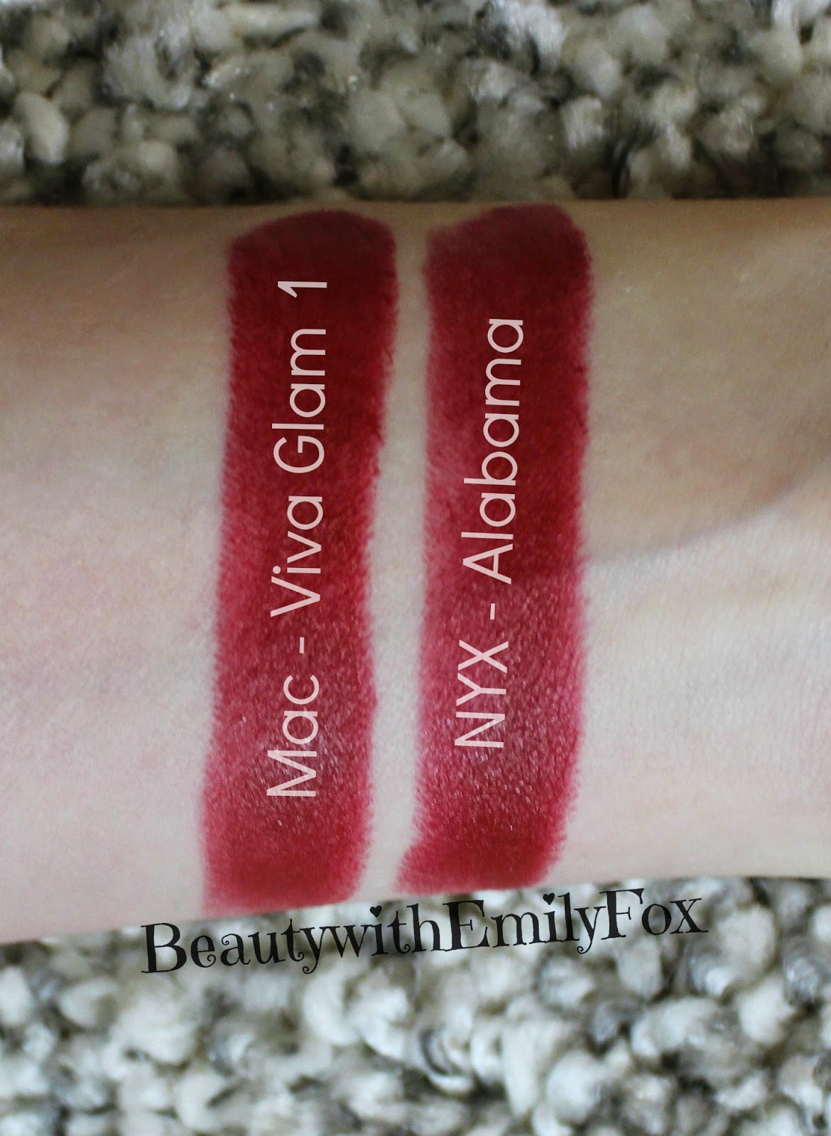 MAC Viva Glam I and NYX Alabama | MAC Lipstick Dupes | The Ultimate Guide | mac lipstick dupes list | mac brave lipstick dupes