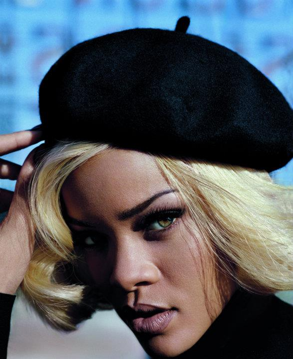 Beauty Rihanna Hairstyles on Vogue UK November 2011