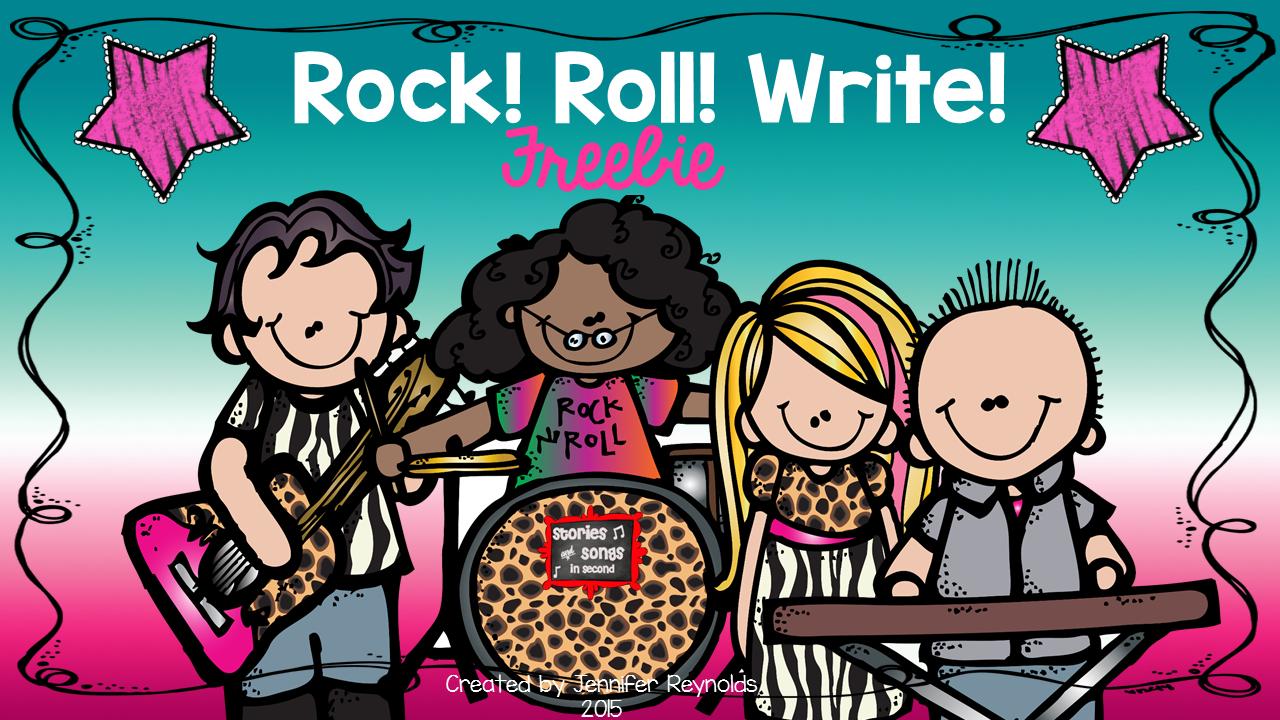 Rock, Roll, Write FREEBIE
