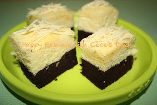 Brownies Kukus Coklat Keju