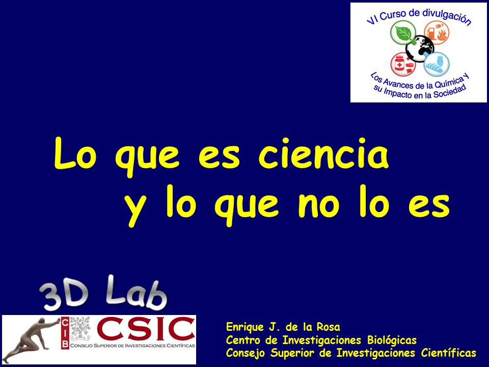 Charla en el curso de Bernardo Herradón