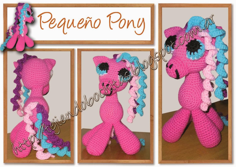 Amigurumi Pequeno Pony : Tejiendo Bochitas
