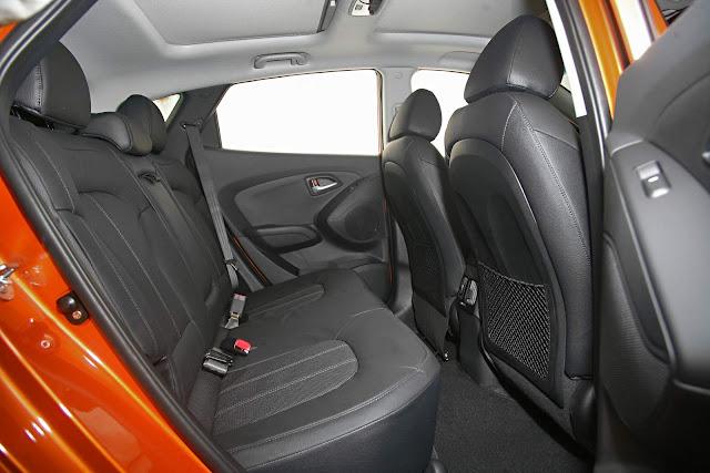 Hyundai New ix35 2016 - espaço interno traseiro