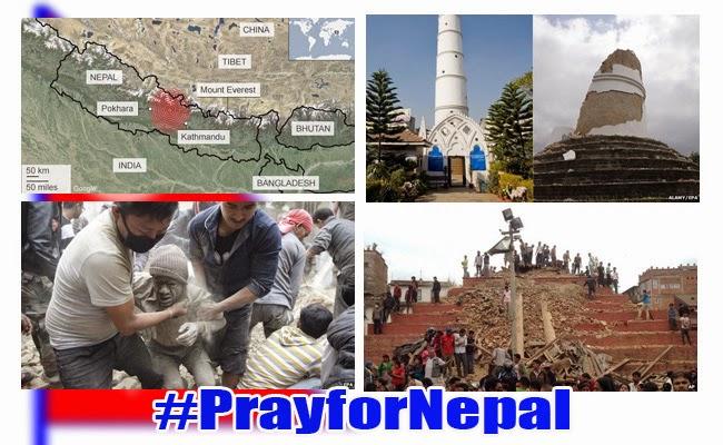 7.8 Magnitude Earthquake hit Nepal