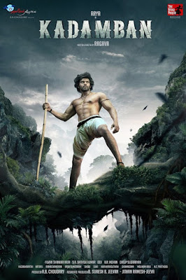 Poster Of Kadamban Full Movie in Hindi HD Free download Watch Online Tamil Movie 720P