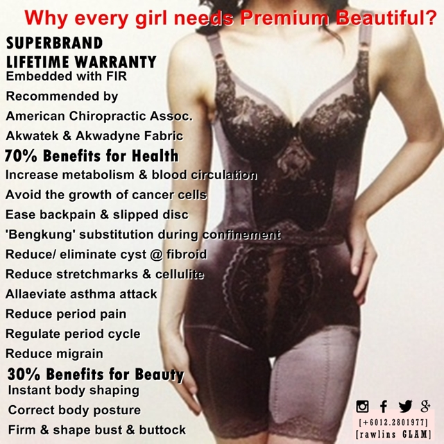 weight loss, kurus, gemuk, sakit, sihat, healthy, fat, obese, obesity, premium beautiful corset, Premium Beautiful Classic, Premium Beautiful Elegance, byrawlins, murah, langsing