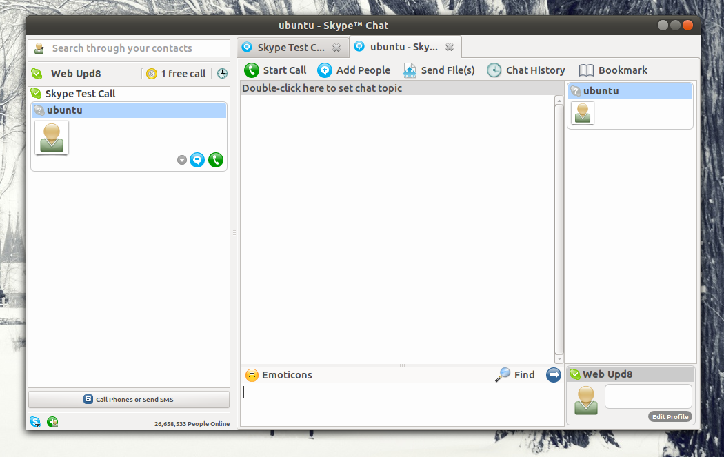SkypeTab NG (next generation) adds tabs to Skype