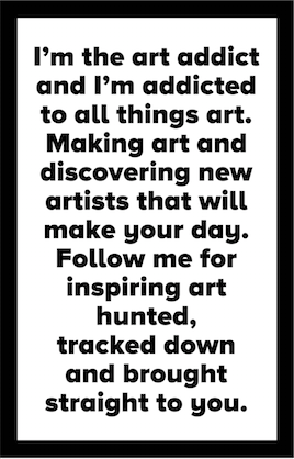 THE ART ADDICT ABOUT
