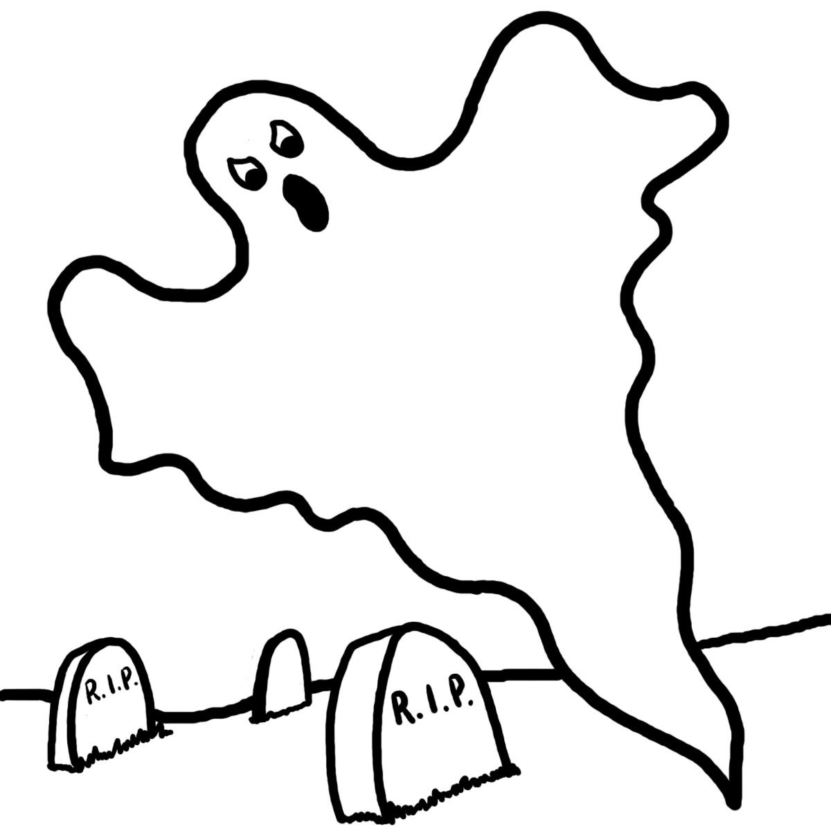 Banco de Imagenes y fotos gratis: Dibujos de Halloween para Pintar 7