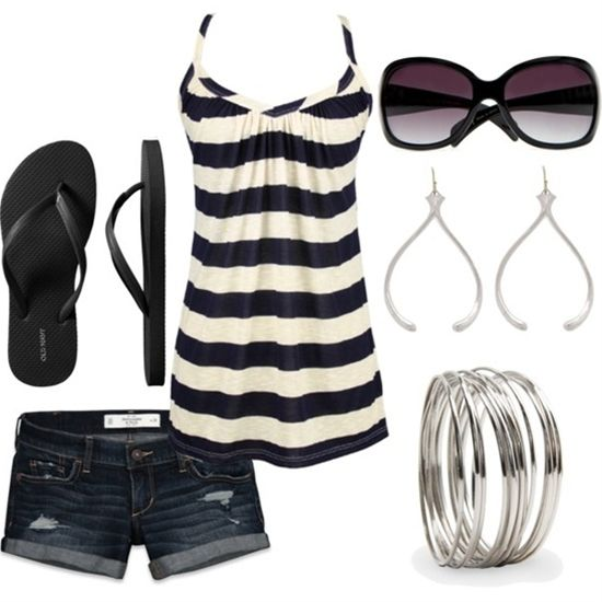 Cute and Stylish Summer Outfit