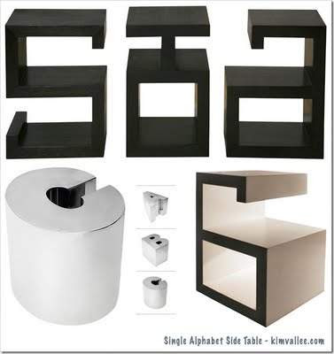 graffiti-alphabet-side-tables-design