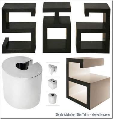 graffiti-alphabet-side-tables-design