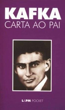 Capa do livro Carta ao Pai, do escritor Franz Kafka