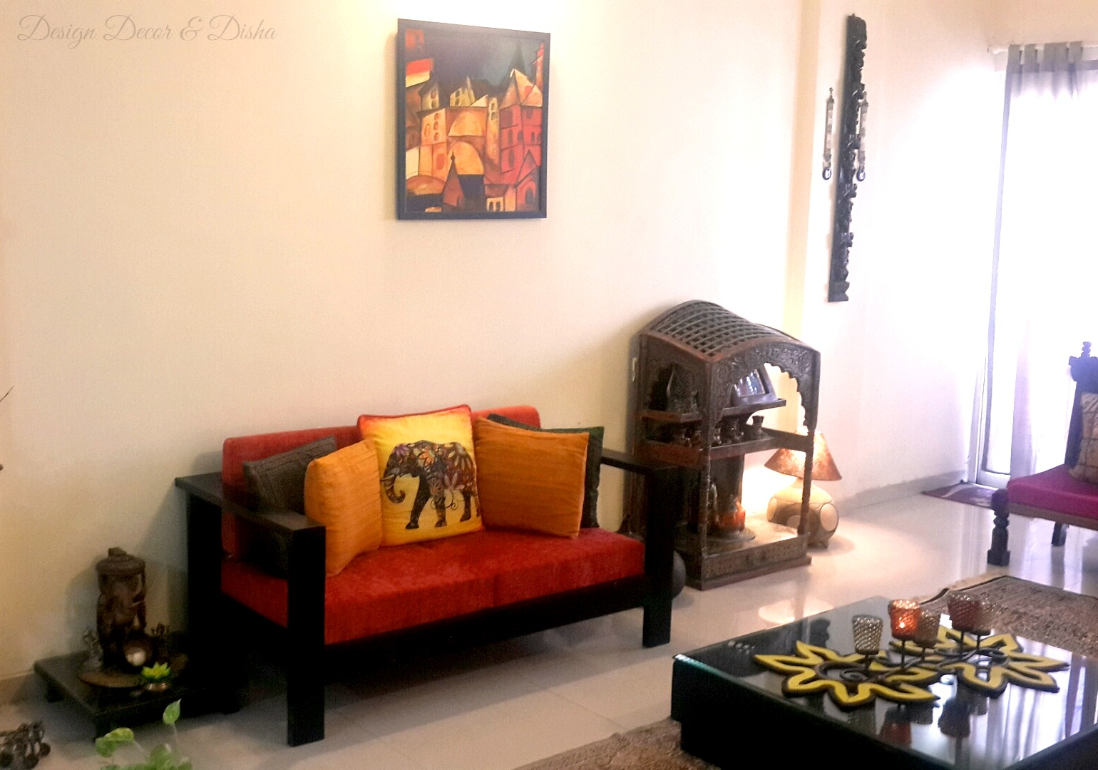 Indian Home Decorating Ideas Part - 24: Indian Home Tour