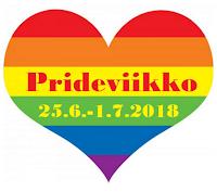 Pride-viikon lukuhaaste (25.6.-1.7.2018)