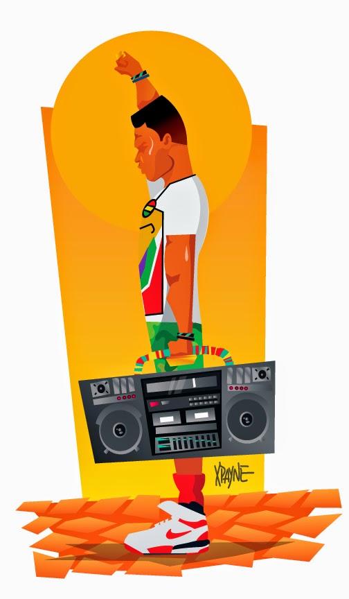 Radio Raheem by Xavier Payne