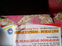 Jadwal Pelayaran Dumai Express - Dumai Line (Dumai, Batam, Tanjung Balai Karimun, Selat Panjang, Tanjung Pinang)