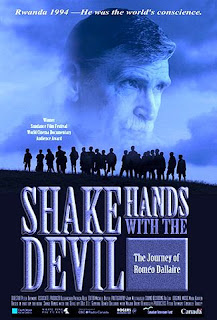 Poster for Shake Hands With the Devil documentary