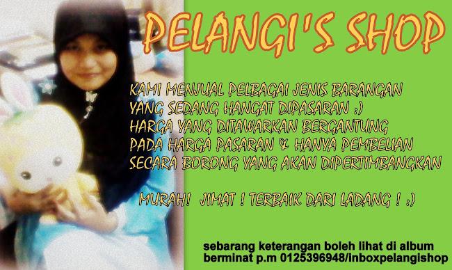 PELANGI'S SHOP