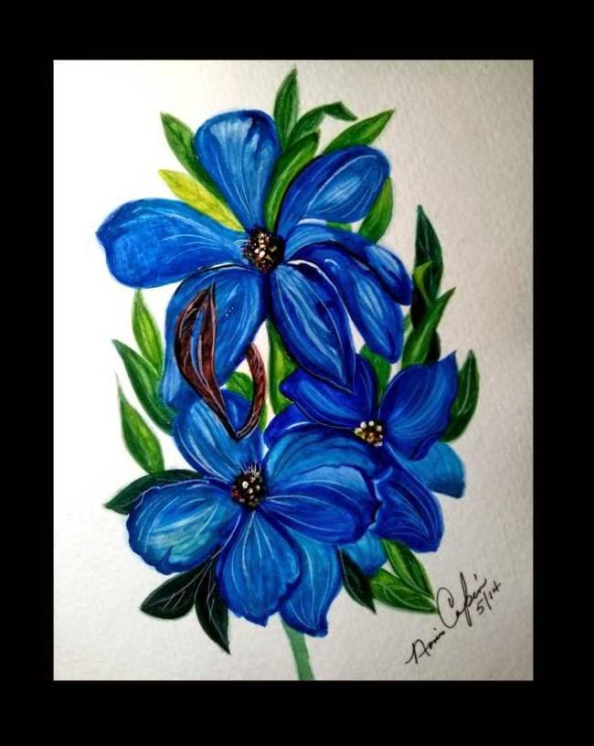 Delicadeza azul