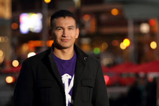 Wab Kinew Building Connections, aboriginal perspectives, Wab Kinew in Brandon