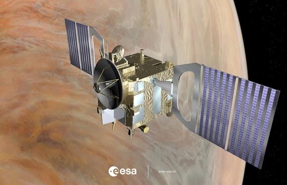 Wahana Venus Express Bakal Dijatuhkan ke Planet Venus