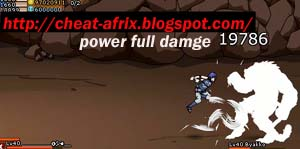 Cheat Damage Ninja Saga