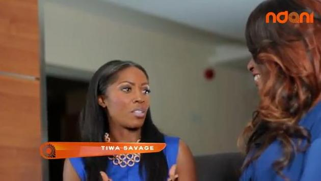 tiwa savage on ndani tv