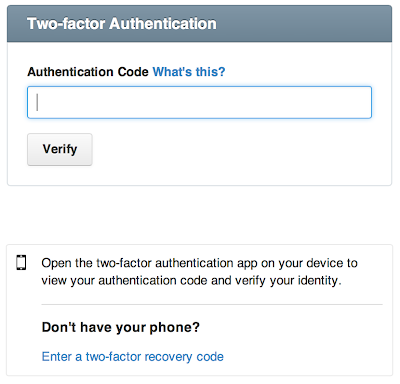 Code Repository %2527Github%2527 offers Two Factor Authentication