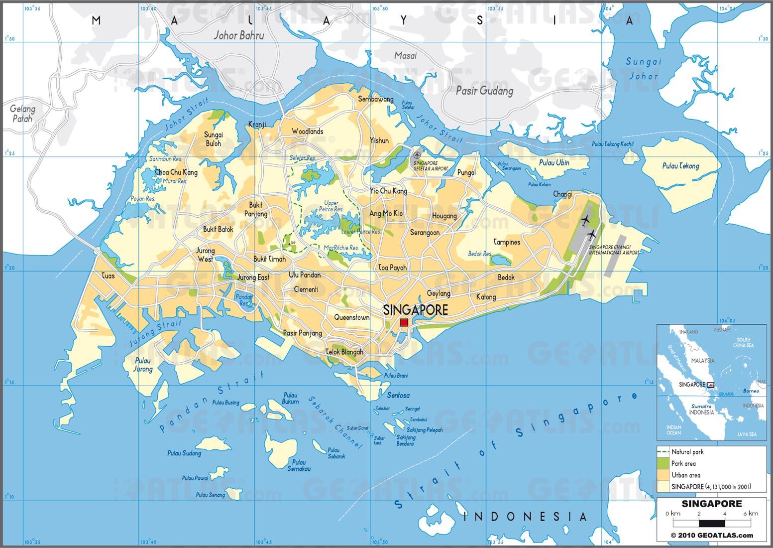 singapore street map pdf download