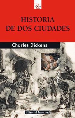 Portada del libro historia de dos ciudades descargar epub y pdf gratis