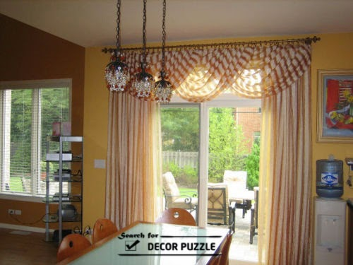 modern French door curtains designs 2015, french style curtains