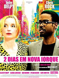 """Poster do filme """"2 Dias em Nova York"""""""