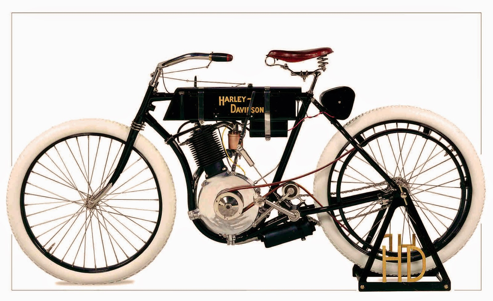 First Harley Davidson: Harley Davidson 1905 Model No.1