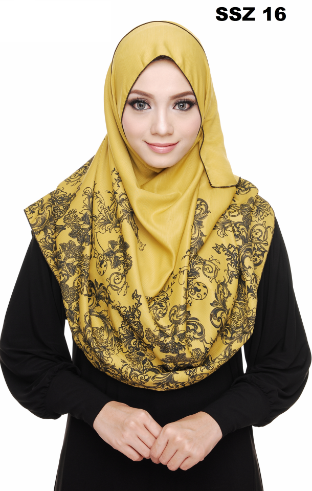 Shawl Satin Senzora