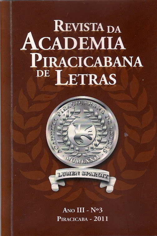 Revista da Academia Piracicabana de Letras - vol 3