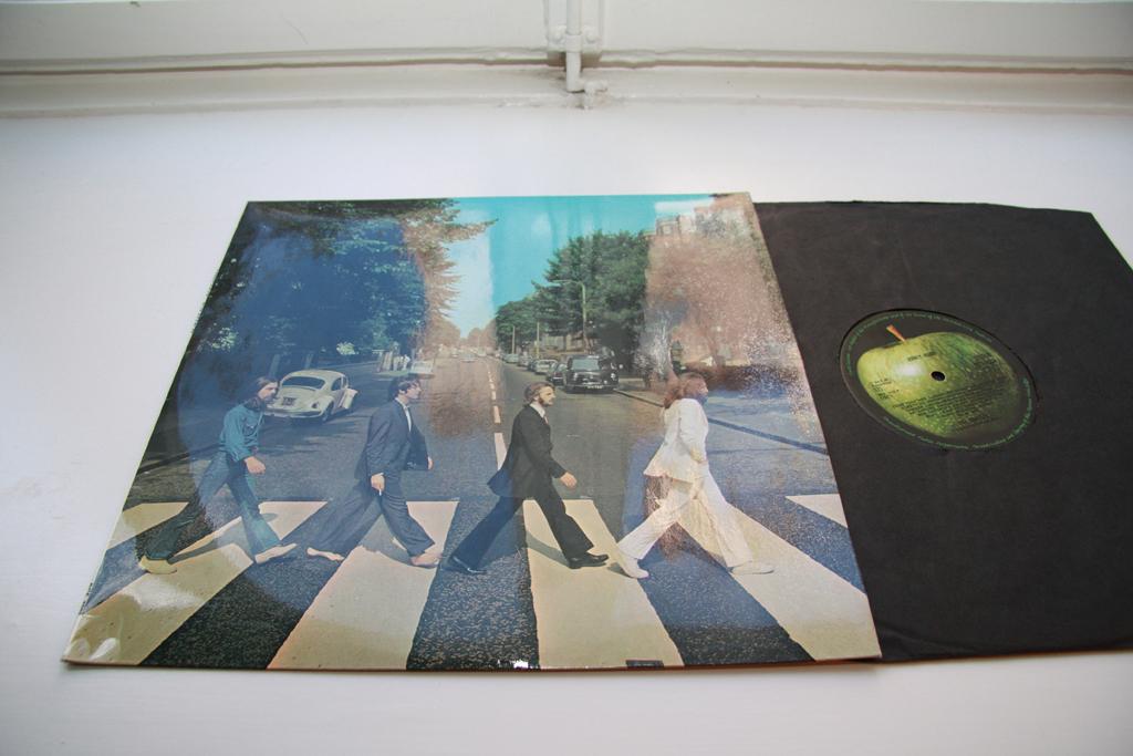 The Beatles Abbey Road LP UK 1969 Apple STEREO PCS 7088