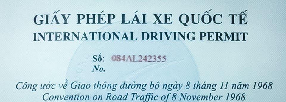 Nâng Bằng Lái Xe Việt Nam Lên Quốc Tế