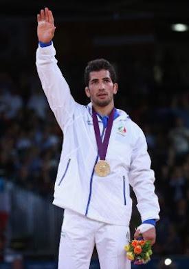 امید نوروزی عزیز، تبریک می گویم برای پیروزی شما در لندن و به دست آوردن دومین مدال طلای ایران