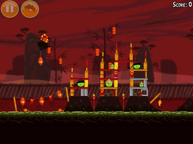 Angry Birds Seasons Gameplay screenshot