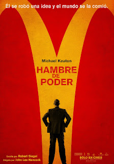 Poster de Hambre de Poder / El Fundador