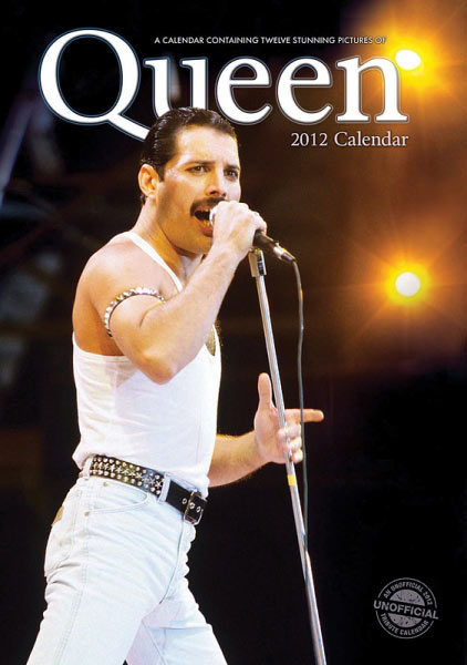 Calendario de pared Queen