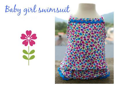 Conjunto bañador niña ideal piscina