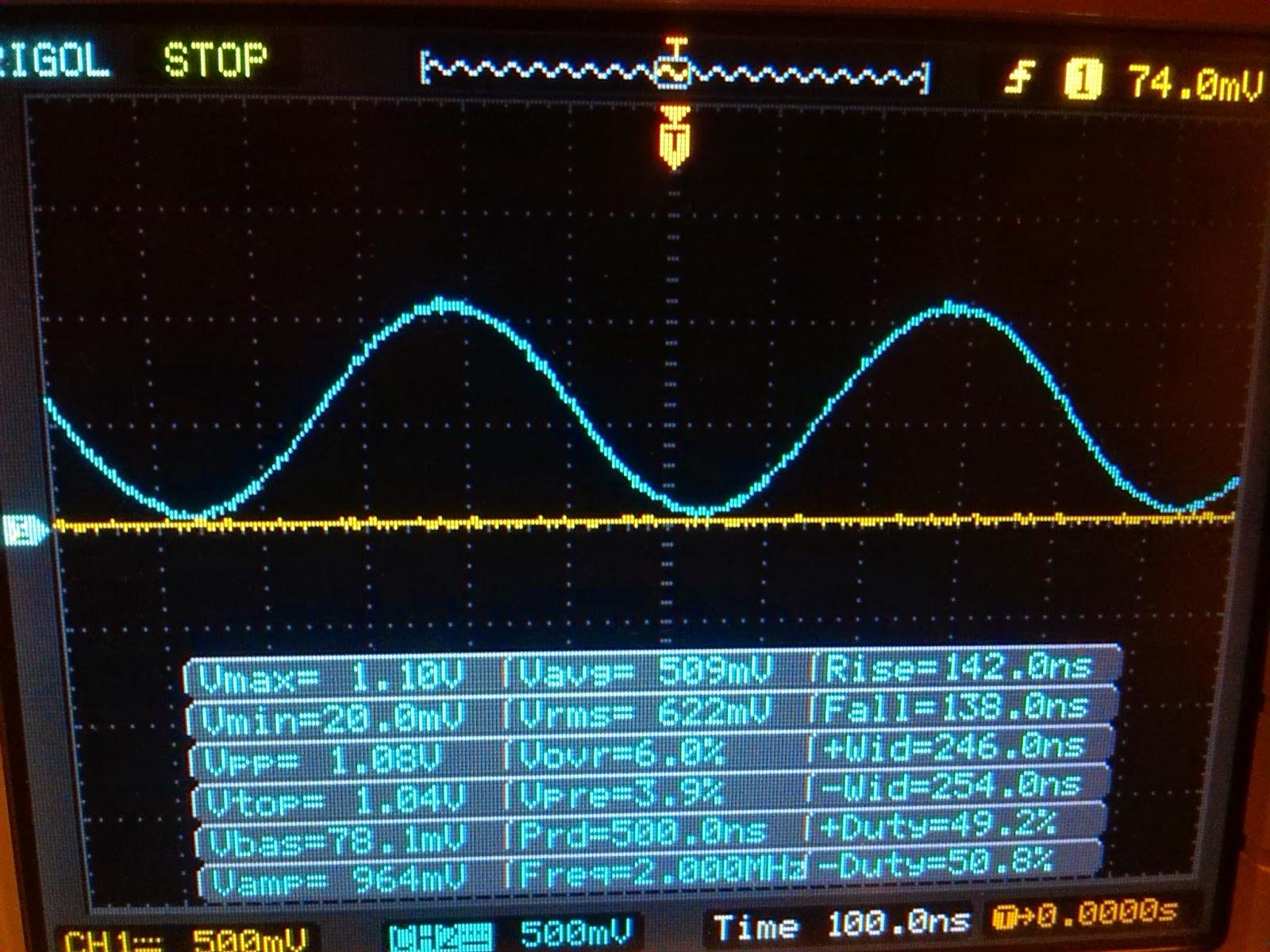 AVR projects: AD9850 Arduino sine wave generator 0-40MHz