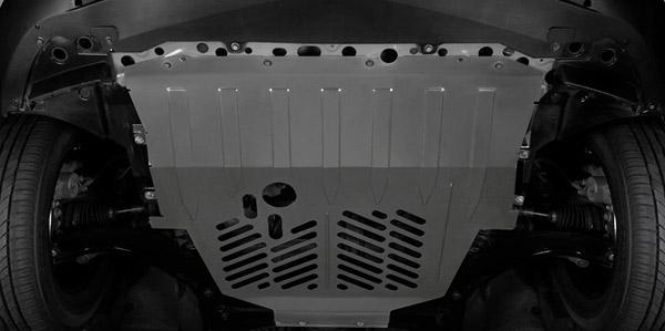 Nissan Tiida Sedan - Protetor de carter